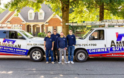 Roofers In Marietta GA Team