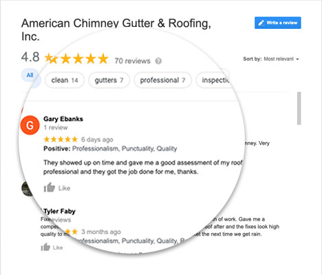 Roofers In Marietta Ga Review From Google